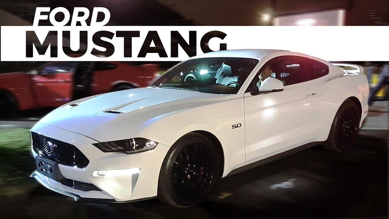 Primeiro contato ford mustang 2018