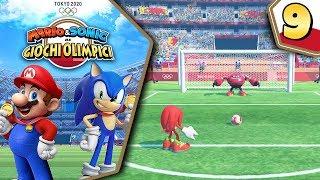 SFIDA AI CALCI DI RIGORE!  Knuckles VS Jet - Mario e Sonic ai Giochi Olimpici di Tokyo 2020