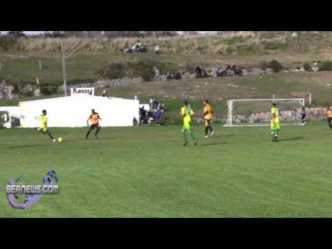 #3 St. David's vs Cougars Premier Football soccer Bermuda Feb 6th 2011