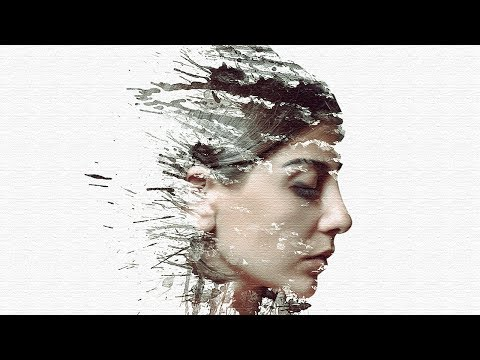 Photoshop CC Tutorial: Creative Paint Splash Effect