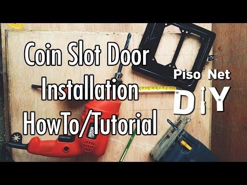 Pisonet DIY: Coin Slot Door Installation Tutorial [Tagalog]