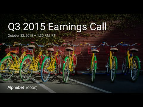 Google Q3 2015 Earnings Call
