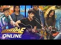 It's Showtime Online: Volts Vallejo sings