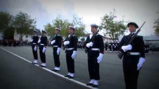 Cérémonie de tradition des fusiliers marins