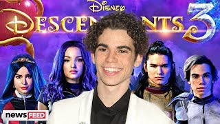Disney CANCELS 'Descendants 3' Premiere & Honors Cameron Boyce In An Amazing Way!