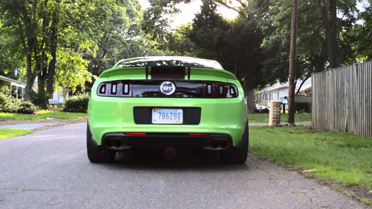 2013 Mustang 2 Step Youtube