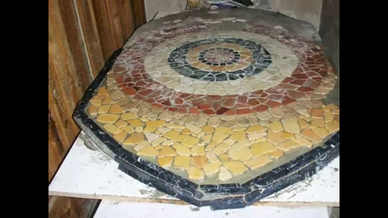 Mosaico fai date youtube - Comporre un bagno ...