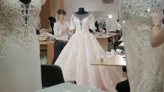 Cвадебное платье  Francesca. Создание шедевра.
