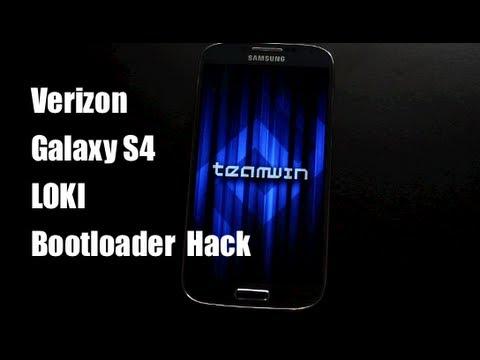 How To LOKI Bootloader Hack Verizon Galaxy S4 Install Recovery