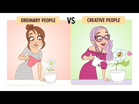 How Creative People See the World