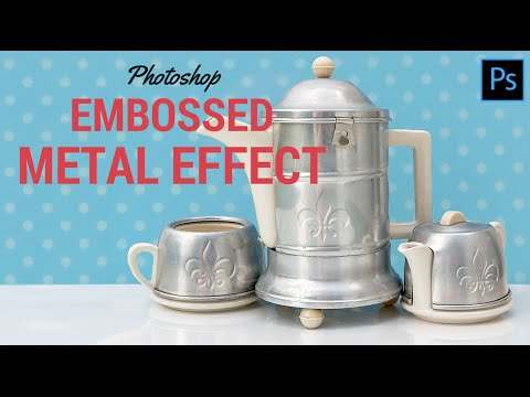 How To Emboss In Photoshop - Photoshop tutorial | PSDDude