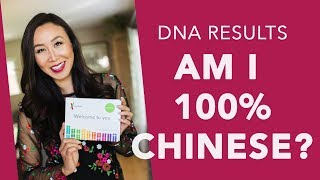 DNA Test: Finding out of I'm 100% Chinese with 23andMe