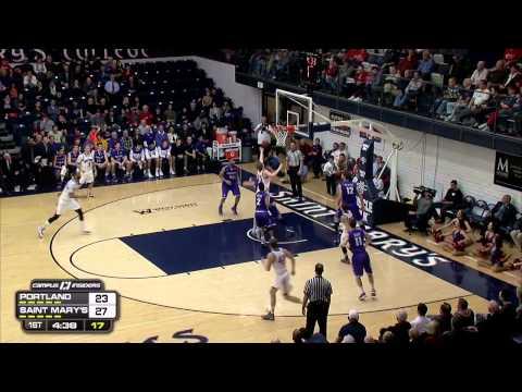 2-19-15 University of Portland vs Saint Mary's College