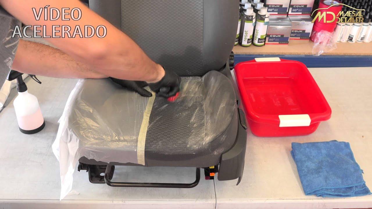 Limpiar Tapiceria Coche A Mano Maesaldetailer Es Youtube