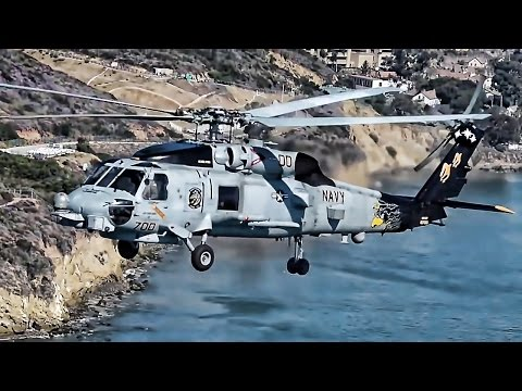 MH-60R Sea Hawk Helicopter • PHOTOEX Flyover