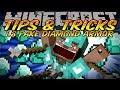 Minecraft Tips And Tricks - Minecraft 1.8 Fake Diamond Armor Skin!