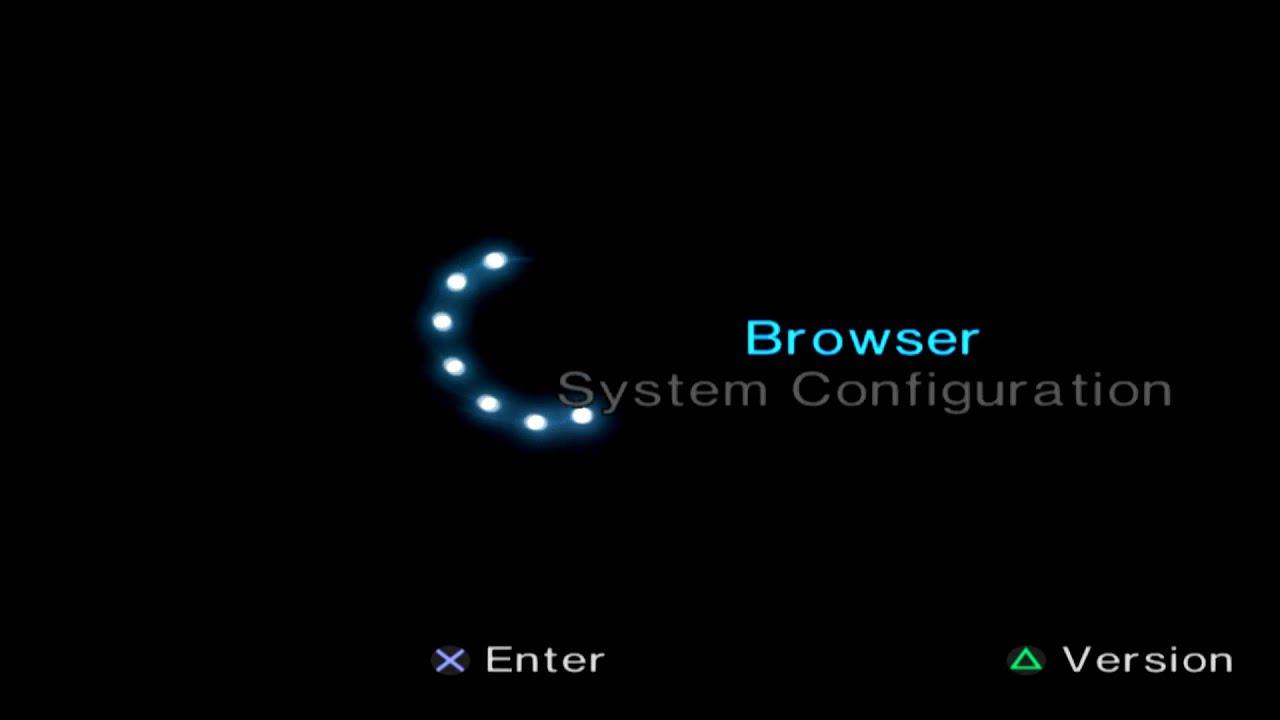 playstation 2 intro menu boot 1080p hd 60 fps ps2 - youtube