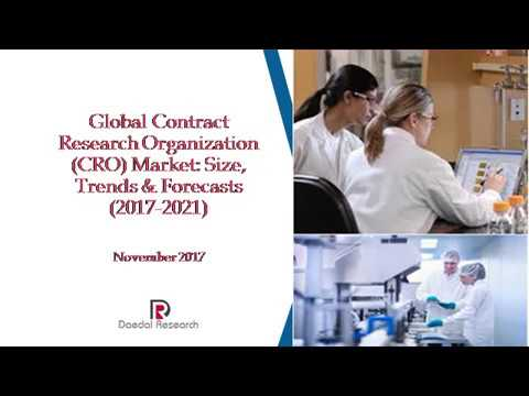 Global Contract Research Organization (CRO) Market: Size, Trends & Forecasts (2017-2021)