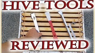 Beekeeping 101 - HIVE TOOL review Beekeepers essential equipment