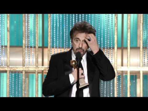 Al Pacino Wins Best Actor TV Movie - Golden Globes 2011