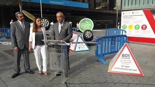 Pamplona presenta una campaña que recrea accidentes para concienciar a la ciudadanía