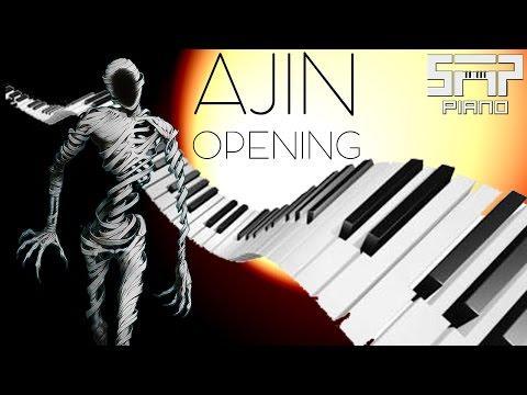 ►Ajin  (亜人) ◄ ♪ Yoru Wa Nemureru Kai? ♪ Piano Cover
