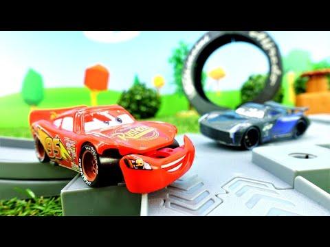 Lightning McQueen Und Cruz - Das Große Rennen - Tolle Spielzeugautos