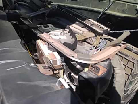 2001 Chevy Silverado Heater Core Replacement Part 4  YouTube