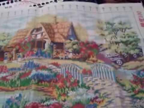 Алиэкспресс вышивка крестом домик