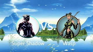 Shadow Fight 2 Super Shadow Vs Wasp