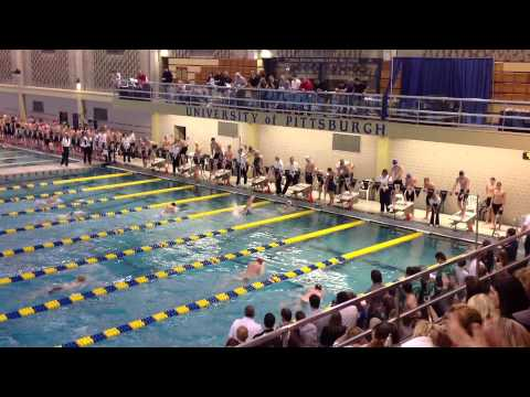 Knoch High School Medley Relay WPIALs 2013