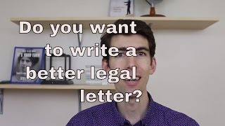 5 Tips for Better Legal Letter Writing