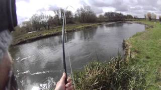 Atlantic Salmon on the fly - Classic Ibsley Pool - Hampshire Avon