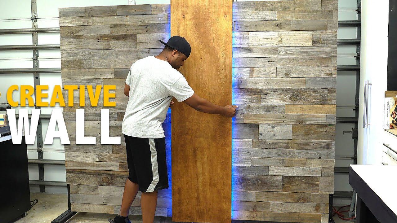 How to build a portable WALL (COOL IDEA) | DIY Creators