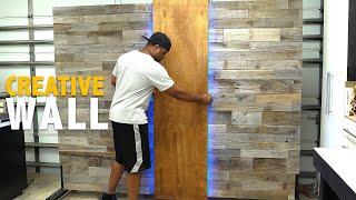 How to build a portable WALL (COOL IDEA)   DIY Creators