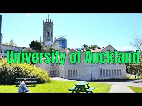 University Of Auckland, City Campus .