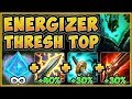 UHH RIOT? GLACIAL ENERGIZER THRESH IS 100% ABSURD! THRESH SEASON 9 TOP GAMEPLAY! - League of Legends