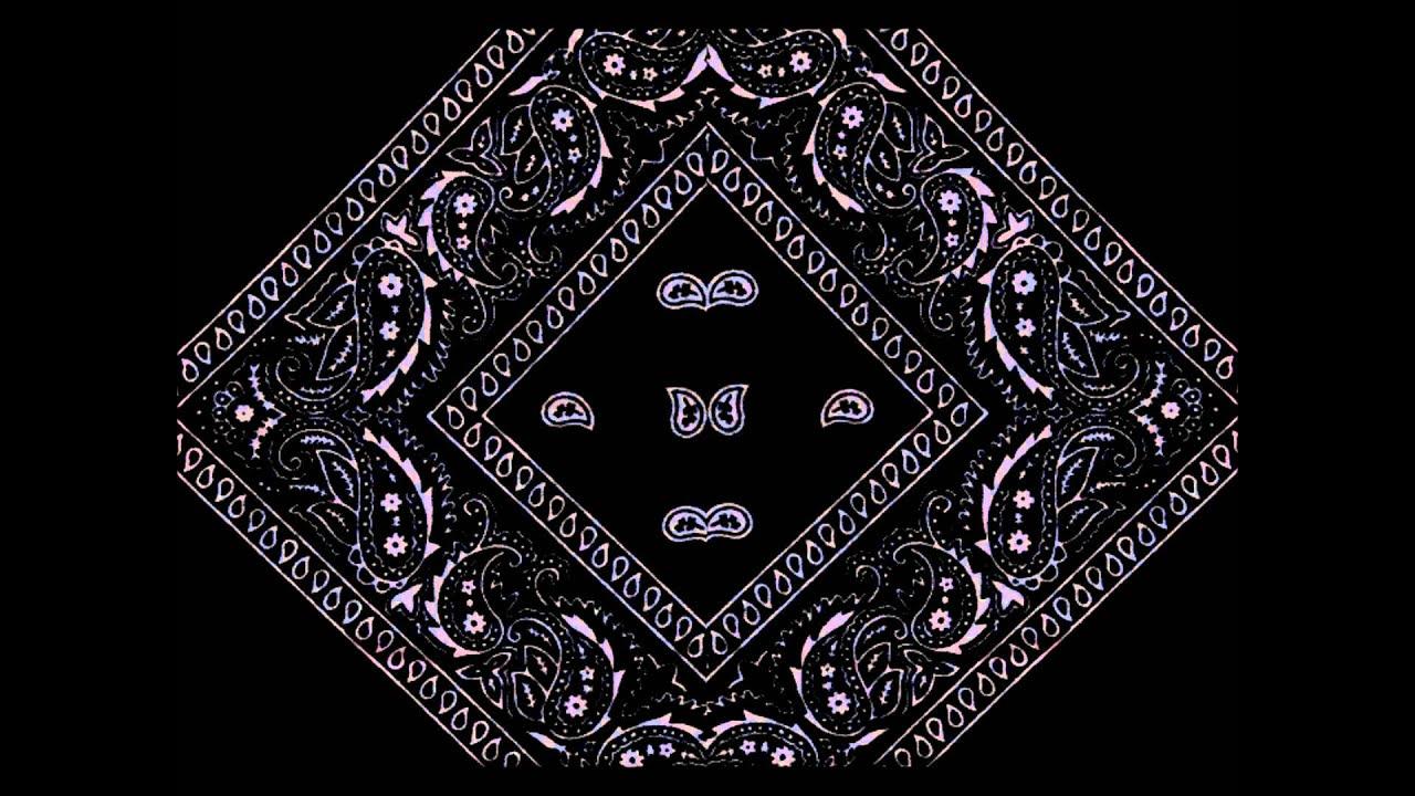 red black bandana wallpaper