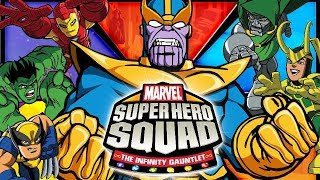 Marvel Super Hero Squad: The Infinity Gauntlet All Cutscenes (Game Movie) 1080p HD