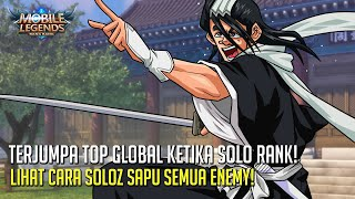 SOLO RANK TERJUMPA TRIO TOP GLOBAL 5000 POINT! AURA BYAKUYA KUCHIKI MASUK KEDALAM SOLOZ!
