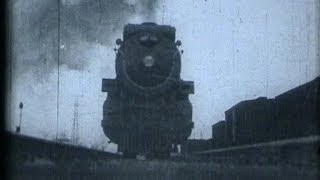 3685 Horsepower Steam Locomotive in 1928