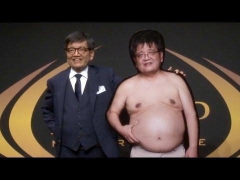 森永卓郎、ライザップで肉体改造 約20キロ減量に成功 ライザップダイエット結果報告会