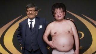 森永卓郎、ライザップで肉体改造 約20キロ減量に成功 ライザップダイエット結果報告会 thumbnail