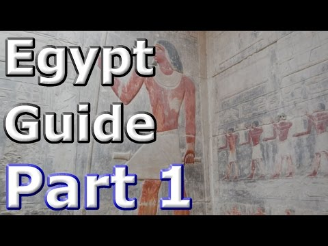 Egypt Guide - P1 - Arrival and the Pyramids