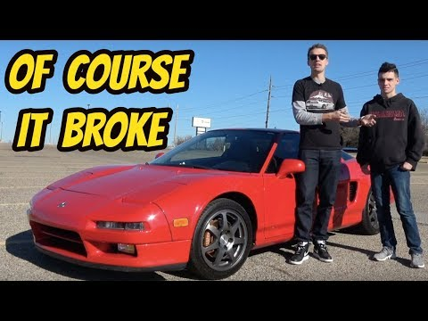 I Taught a 15-year-old How to Drive a Manual Transmission in My Acura NSX