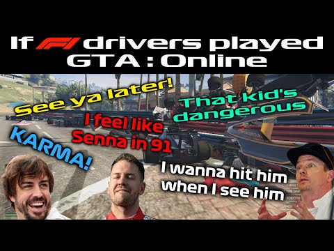If F1 Drivers Played GTA Online