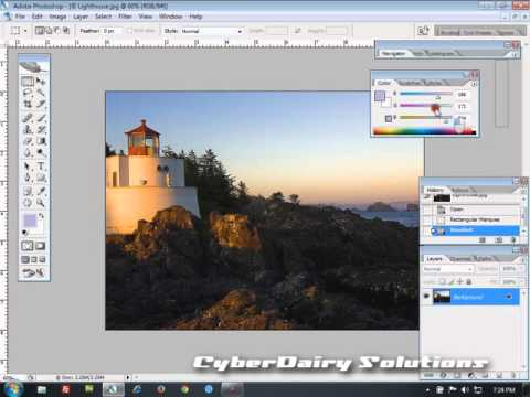Adobe Photoshop Tutorial  : Using palette [Hindi] thumbnail