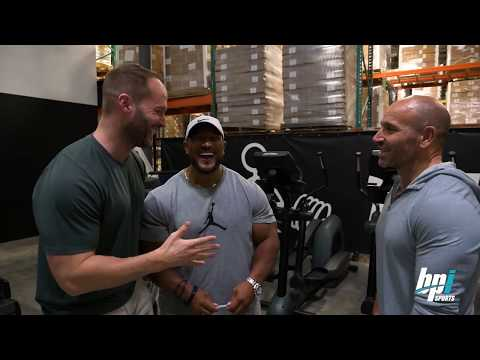 Roelly Winklaar Visits the BPI Sports HQ.