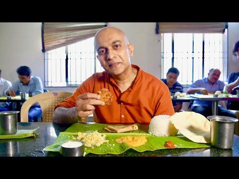 Exploring Authentic Tamil-Brahmin Vegetarian Banana Leaf Meal At Iyer Mess In Bengaluru|Malleshwaram