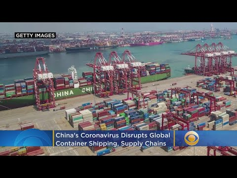 China's Coronavirus Disrupts Global Container Shipping, Supply Chains